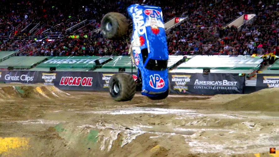 Monster Truck Front Flip Was A Complete Accident