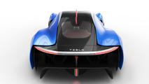 Tesla EXP hypercar rendering