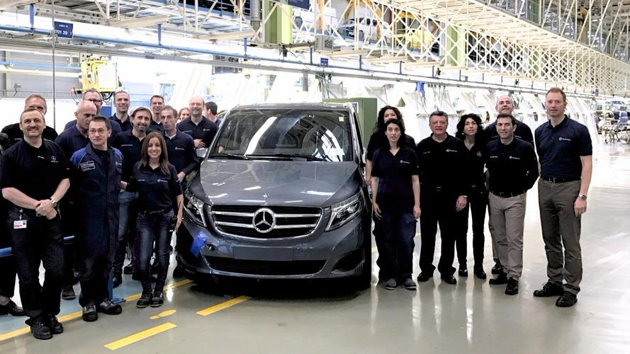 Mercedes şimdiye kadar 100,000 adet V-Serisi üretti