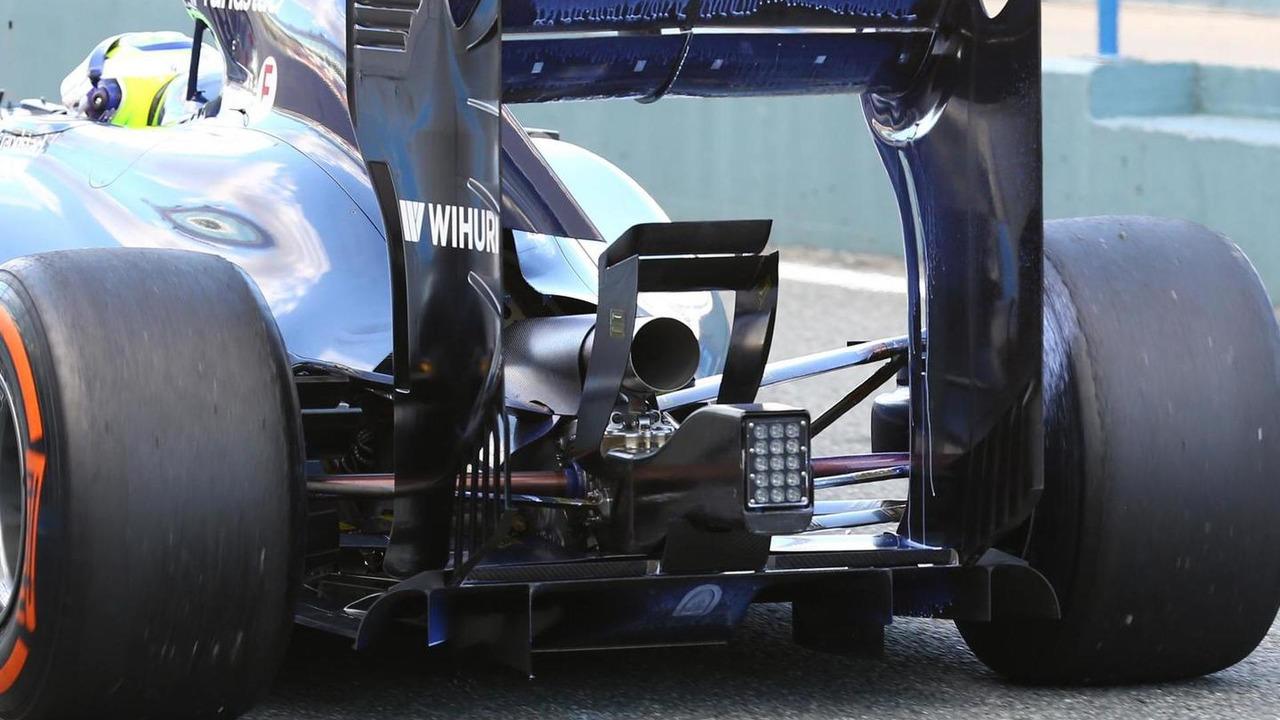 Felipe Massa Williams FW36 30.01.2014 Formula One Testing Jerez Spain