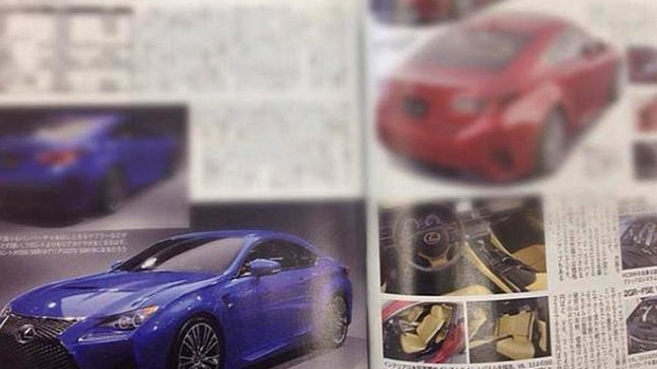 Purported Lexus RC F image