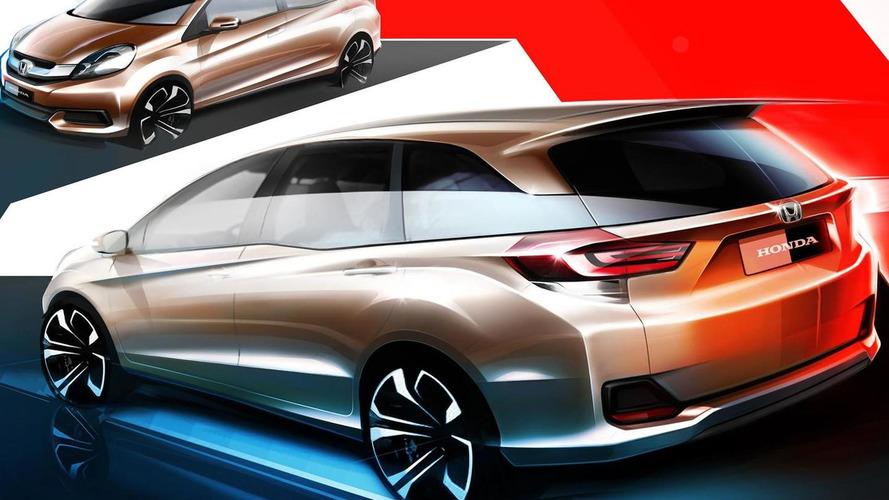 Honda previews Brio MPV ahead of Indonesia Motor Show debut