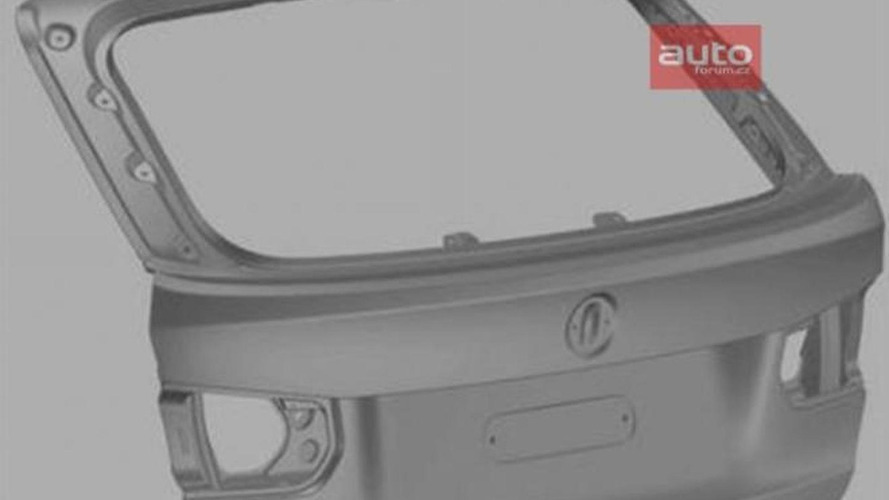 2013 BMW 3-Series Touring rear end styling revealed in patent photos