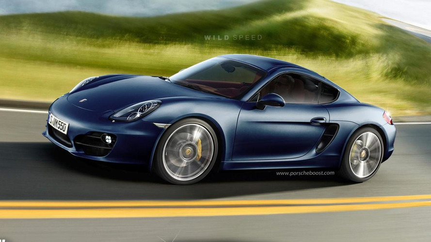 2013 Porsche Cayman rendered