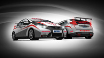 Honda Civic race car for WTCC 03.02.2012