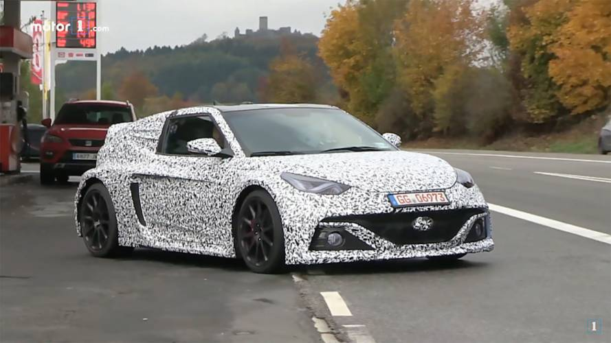 Veloster For Sale >> Hyundai's Mid-Engined Hatch Is Spied Again