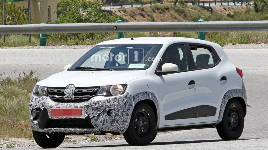 Renault Kwid facelift spy photos