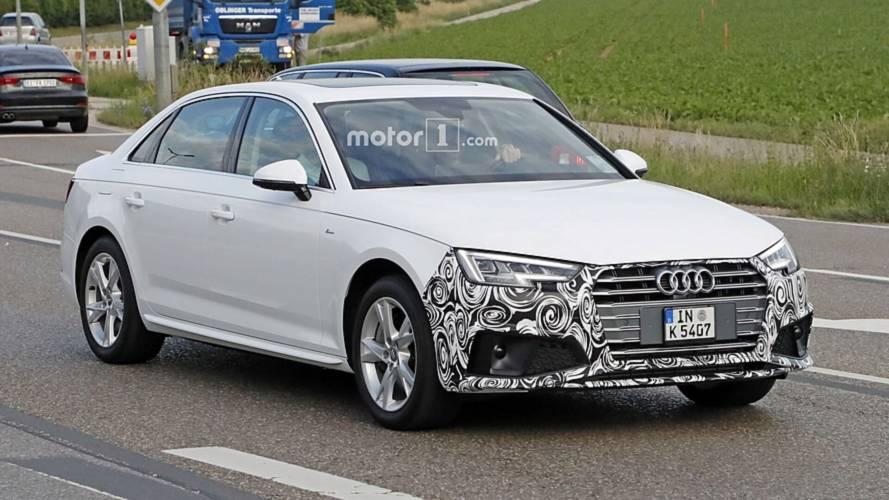 2019 Audi A4 Sedan Spied With Discreet Styling Tweaks
