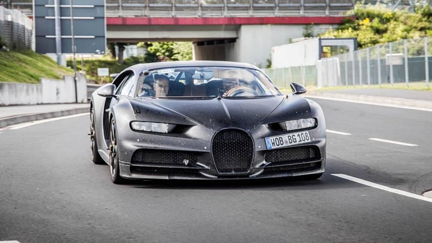 Bugatti Chiron test aracı tekrar Nürburgring'de