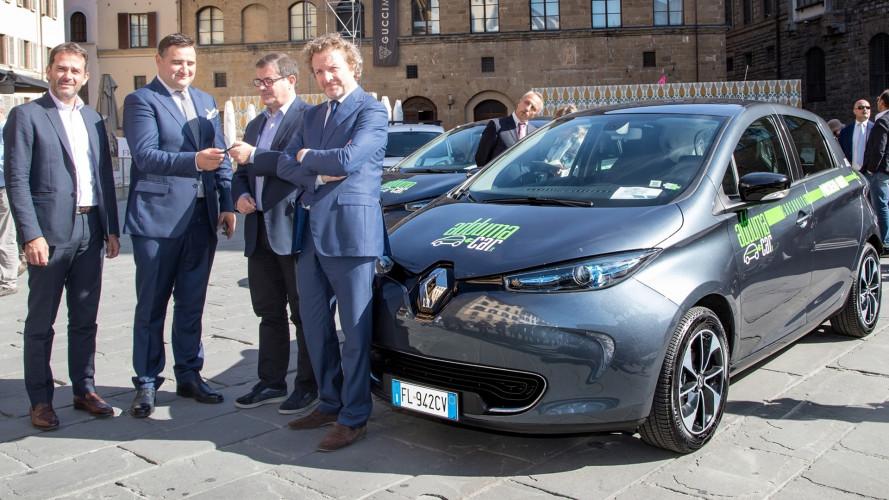Adduma Car, auto elettriche in condivisione a Firenze