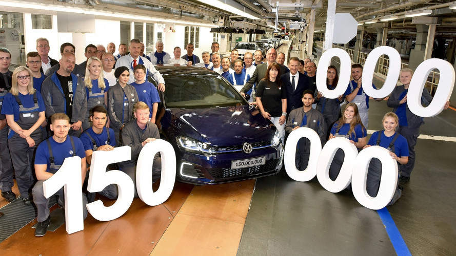 Volkswagen raggiunge il traguardo dei 150 milioni di auto prodotte