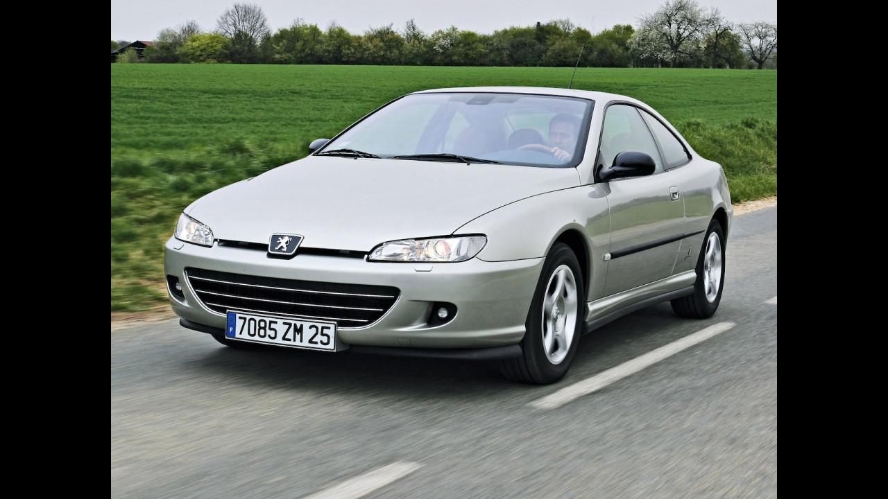 Peugeot 406 Coupé le foto storiche