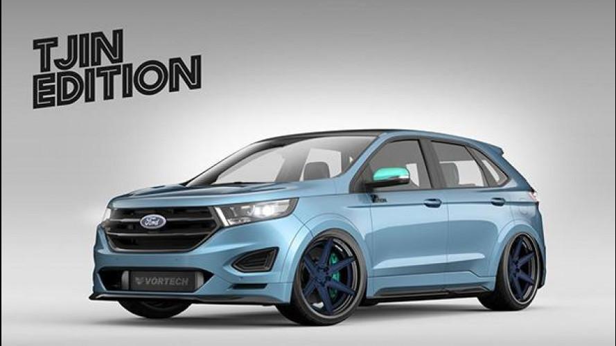 Ford Edge, prima di arrivare in Europa si dà al tuning per il SEMA