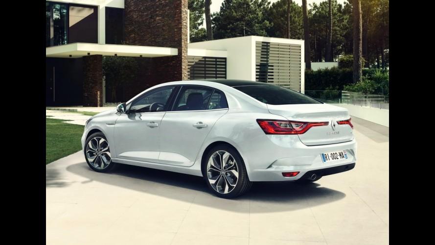 Novo Renault Mégane Sedan: substituto do Fluence aparece agora em vídeo