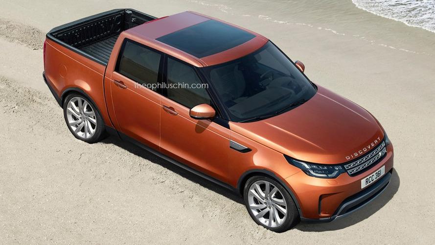 Land Rover Discovery Pick-up - Et si il ressemblait à ça?