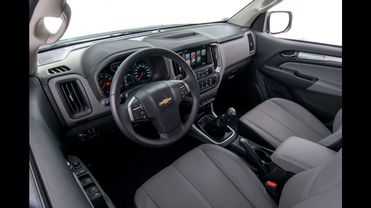 Chevrolet S10 fica mais equipada nas versões LS, LT e LTZ
