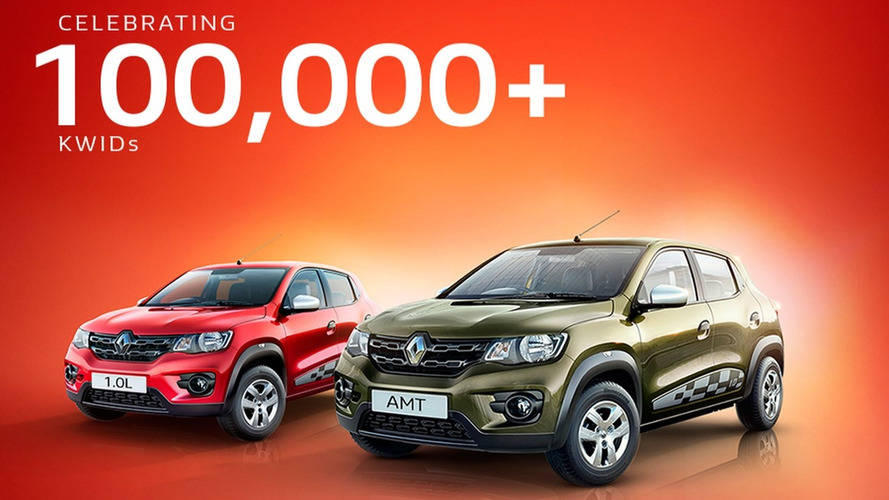 Bom de loja, Renault Kwid supera 100 mil unidades vendidas