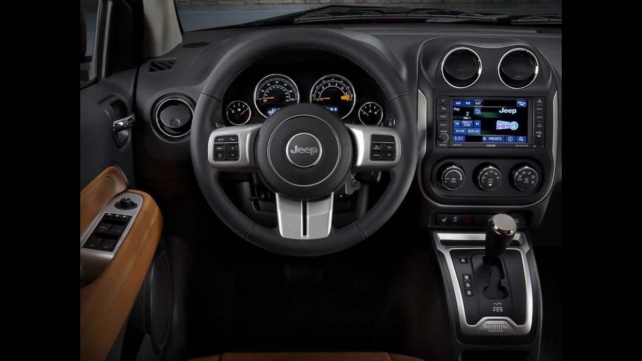 Recall: Jeep Compass tem 2.751 unidades convocadas por falha nos airbags