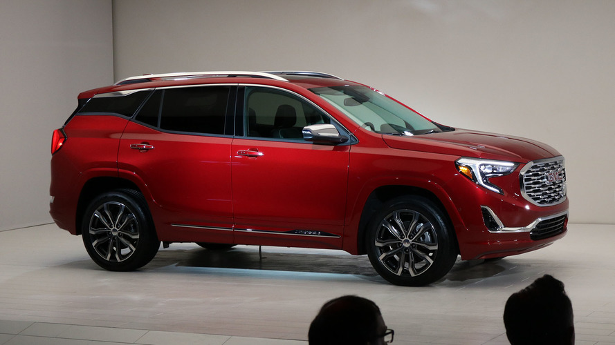 2018 GMC Terrain Starts At $25,970, Denali Loaded With Tech