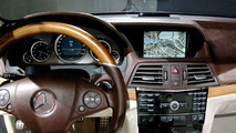 Mercedes-Benz myCOMAND infotainment system in Concept FASCINATION
