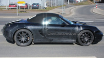 2011 Porsche Boxster prototype spy photo