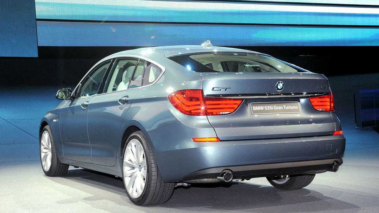 2010 BMW 5-series GT at 2009 Frankfurt Motor Show