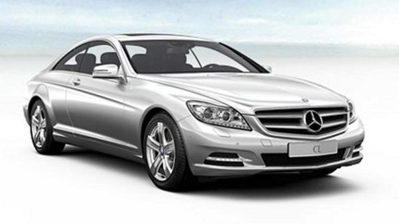 2011 Mercedes CL-Class facelift leaked images, 600, 16.06.2010