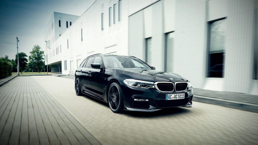 BMW 5 Serisi AC Schnitzer ile daha güçlü