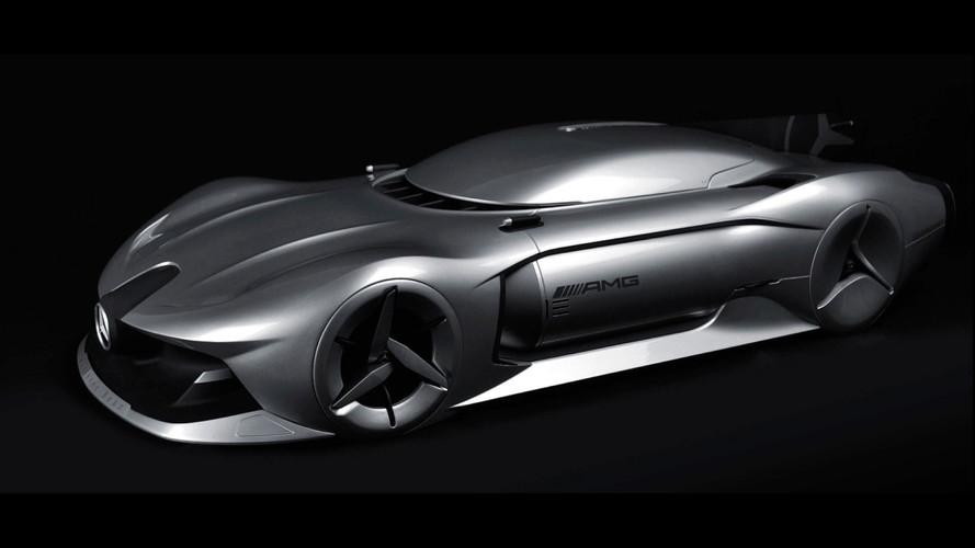 Sleek Mercedes Streamliner Render Inspired By W196 F1 Car