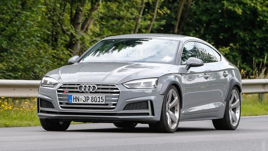 Audi RS5 Sportback spy photos
