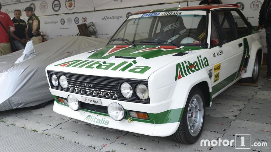 Abarth 131 Rally Car Goodwood