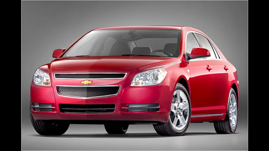 Chevrolet Malibu 2008: Neuauflage wird in Detroit gezeigt