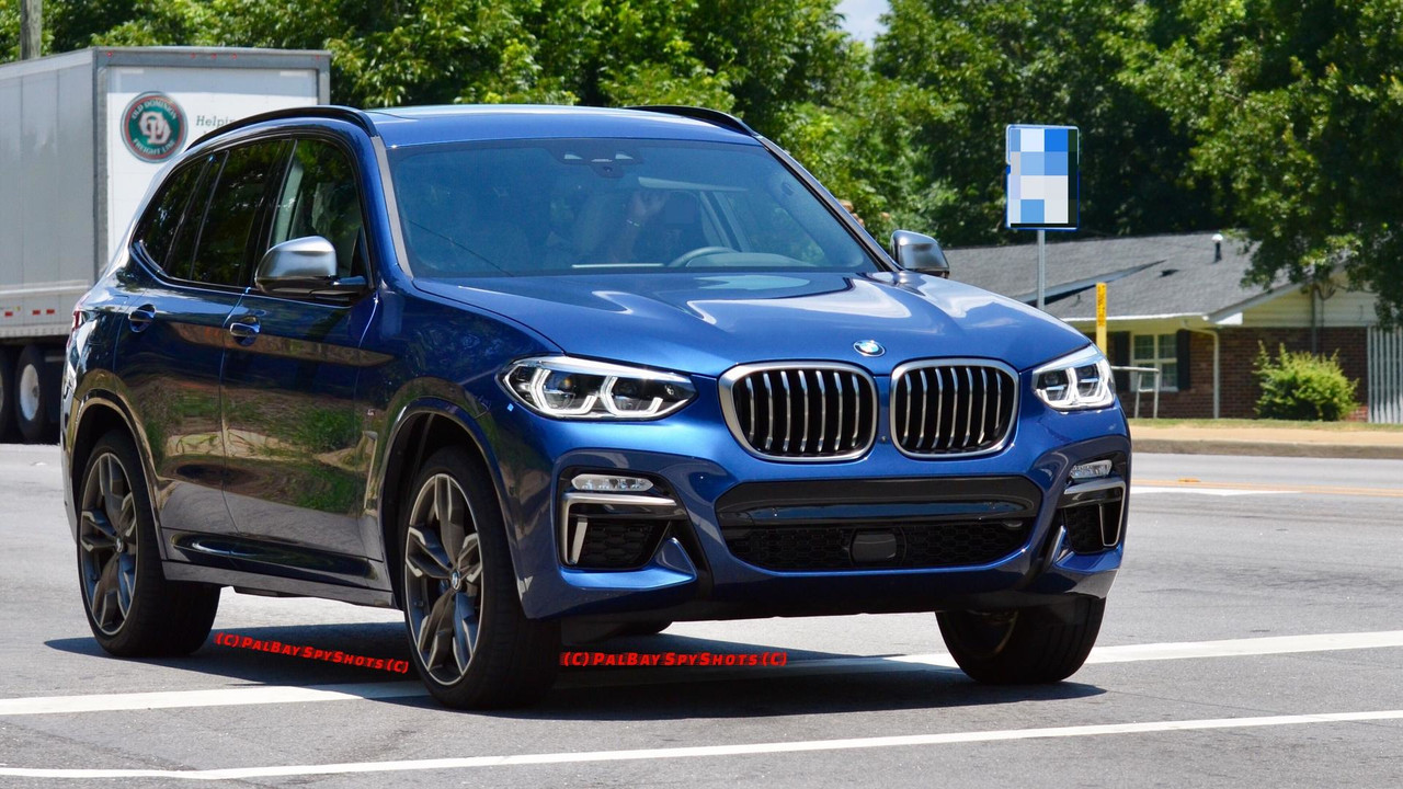 2018 bmw x3 m40i on the road photos. Black Bedroom Furniture Sets. Home Design Ideas