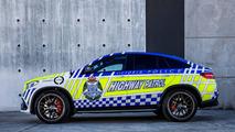 Avustralya polisine bu sefer de Mercedes-AMG GLE 63 S Coupe geldi