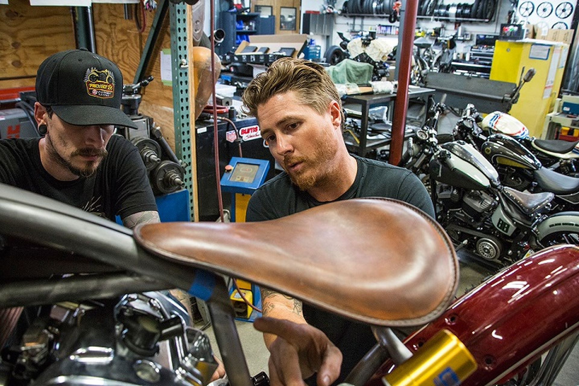 Roland Sands Builds a Board-Track Racer For a New Generation