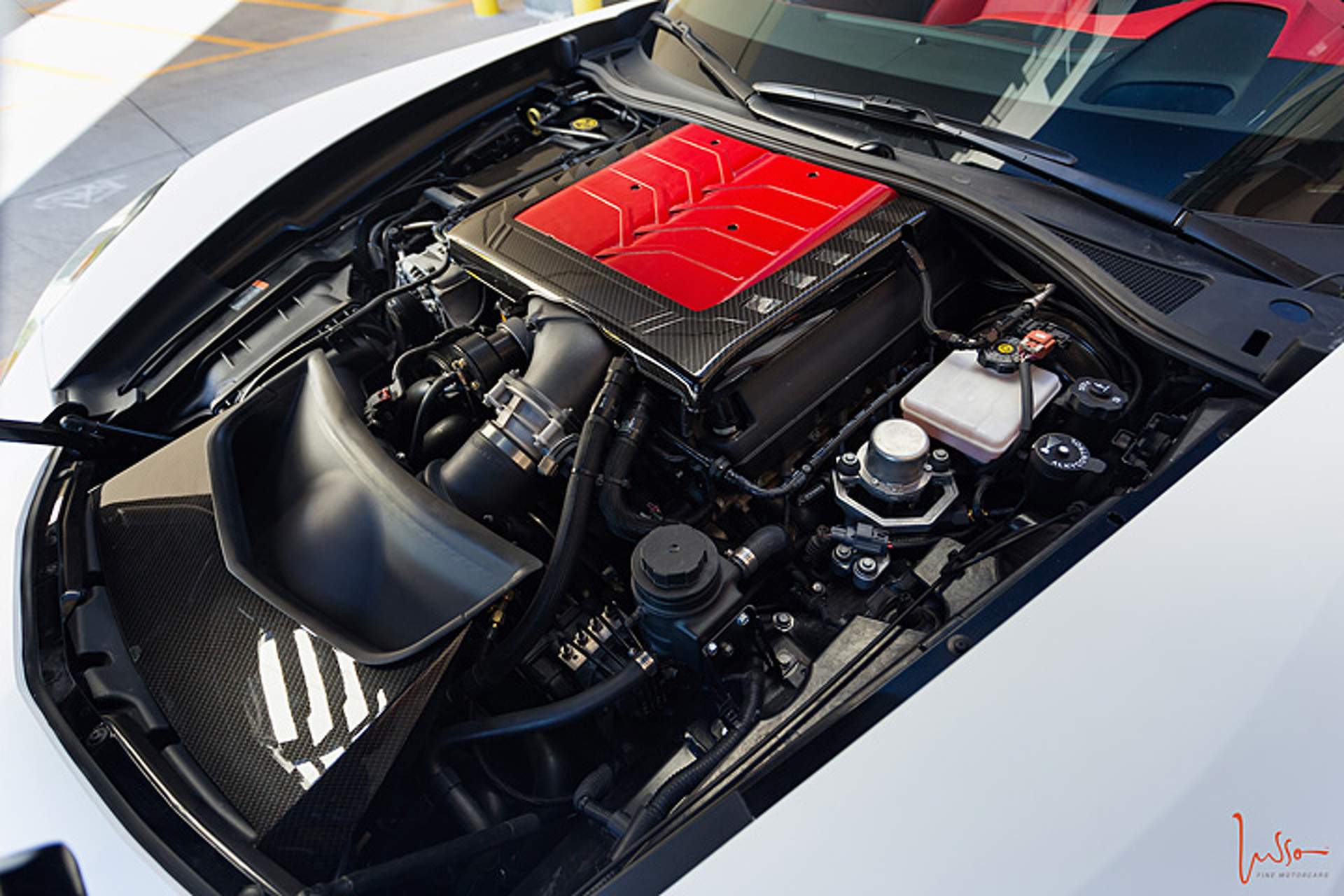 1,000HP Lurks Under the Hood of This Mean Corvette Z06