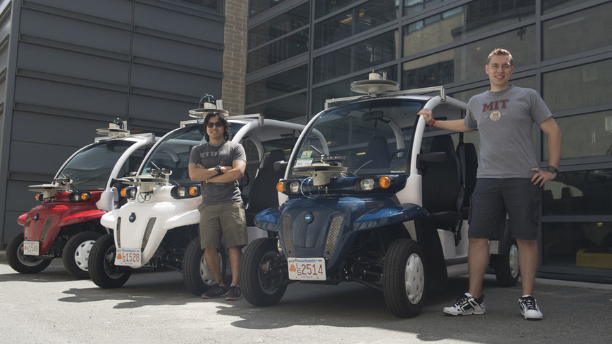 Ford ve MIT otonom elektronik servis aracını test ediyor