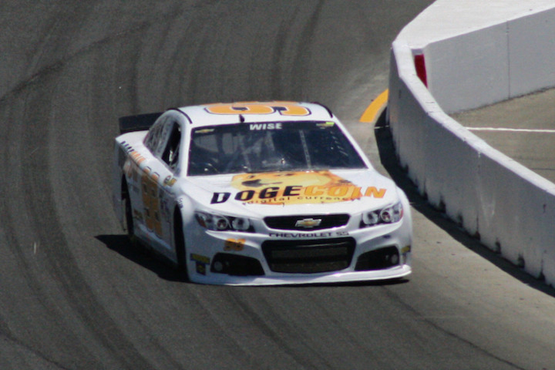 Wow: Josh Wise and Dogecar Return to NASCAR Grid at Sonoma
