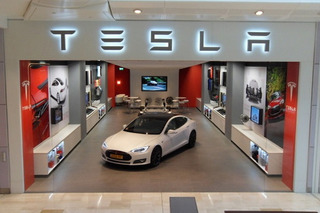 Tesla Picked as Hot Stock for 2015