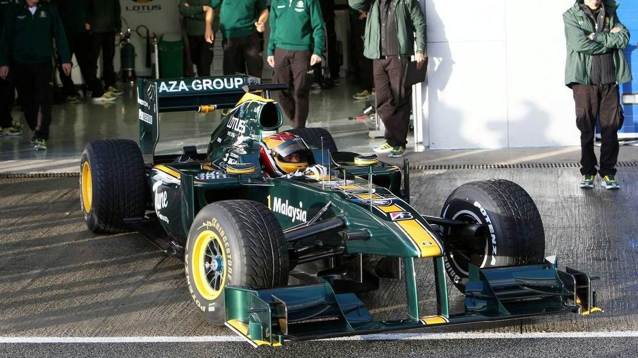 Fairuz Fauzy (MAL), Test Driver, Lotus F1 Team, T127 - Formula 1 Testing, 17.02.2010, Jerez, Spain