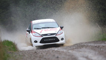 Ford Fiesta R2 rally kit (US) 04.11.2010
