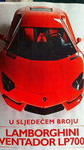 Lamborghini LP700-4 Aventador leaked magazine photo, 1600 - 22.02.2011