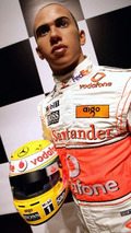 Lewis Hamilton Wax Work At Madame Tussauds