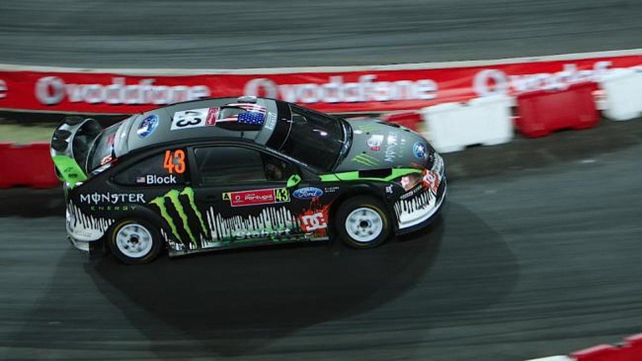 Ken Block Vs Kimi Raikkonen showdown