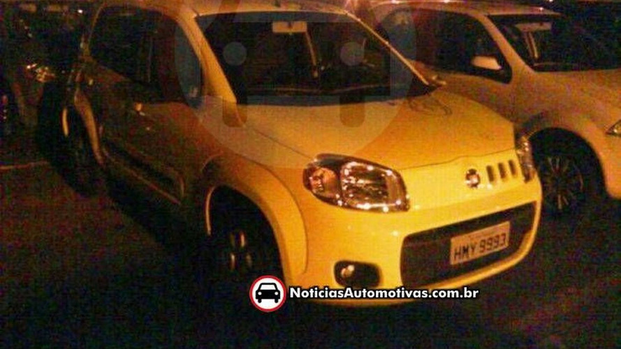 2011 Fiat Uno Revival Spied Uncovered in Brazil