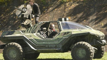 Video Game: Halo Warthog Real Life Vehicle Goes for Test Drive