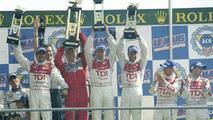Audi R10 TDI Triumphs at Le Mans