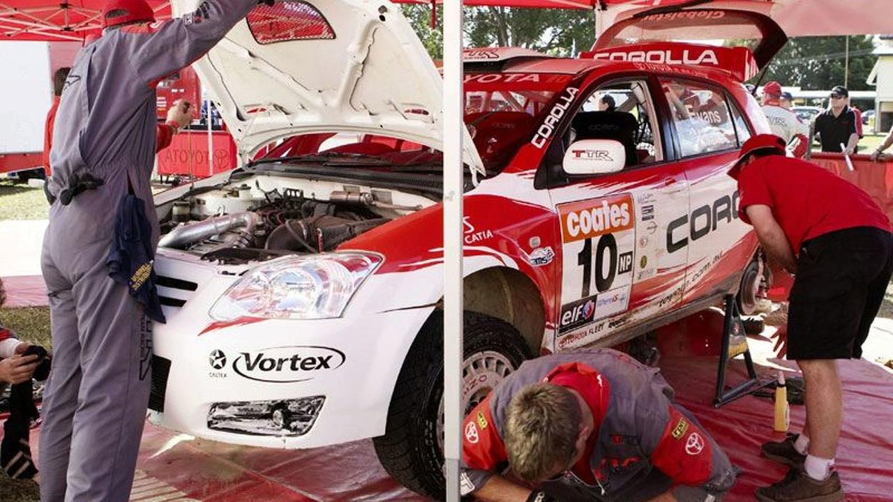 Toyota Genuine Parts Used by Rally Team | Motor1.com Photos