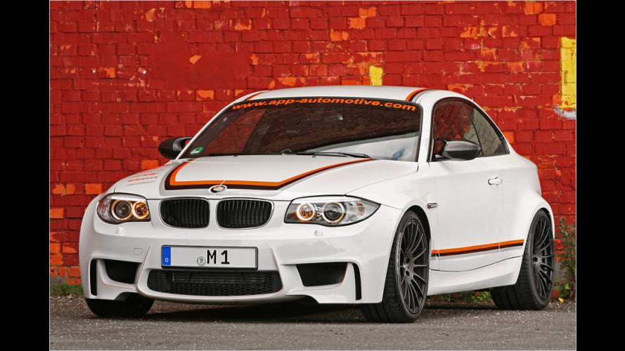 BMW 1M von APP Europe: Der lässts richtig krachen