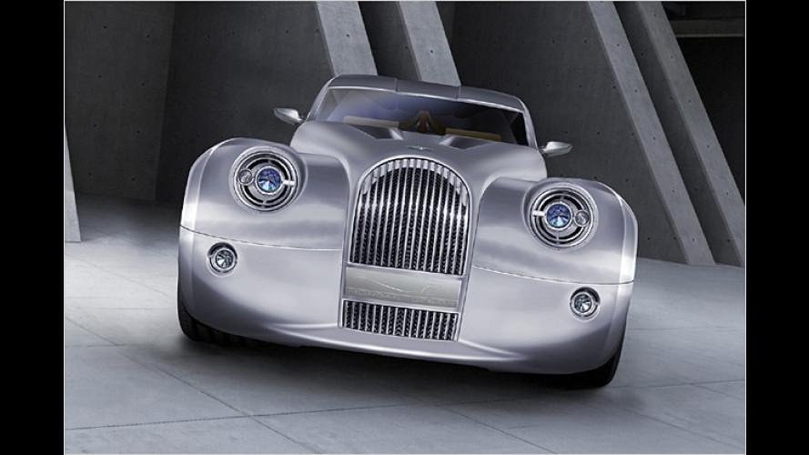 Morgan LifeCar: Retro-Design plus Brennstoffzellenantrieb